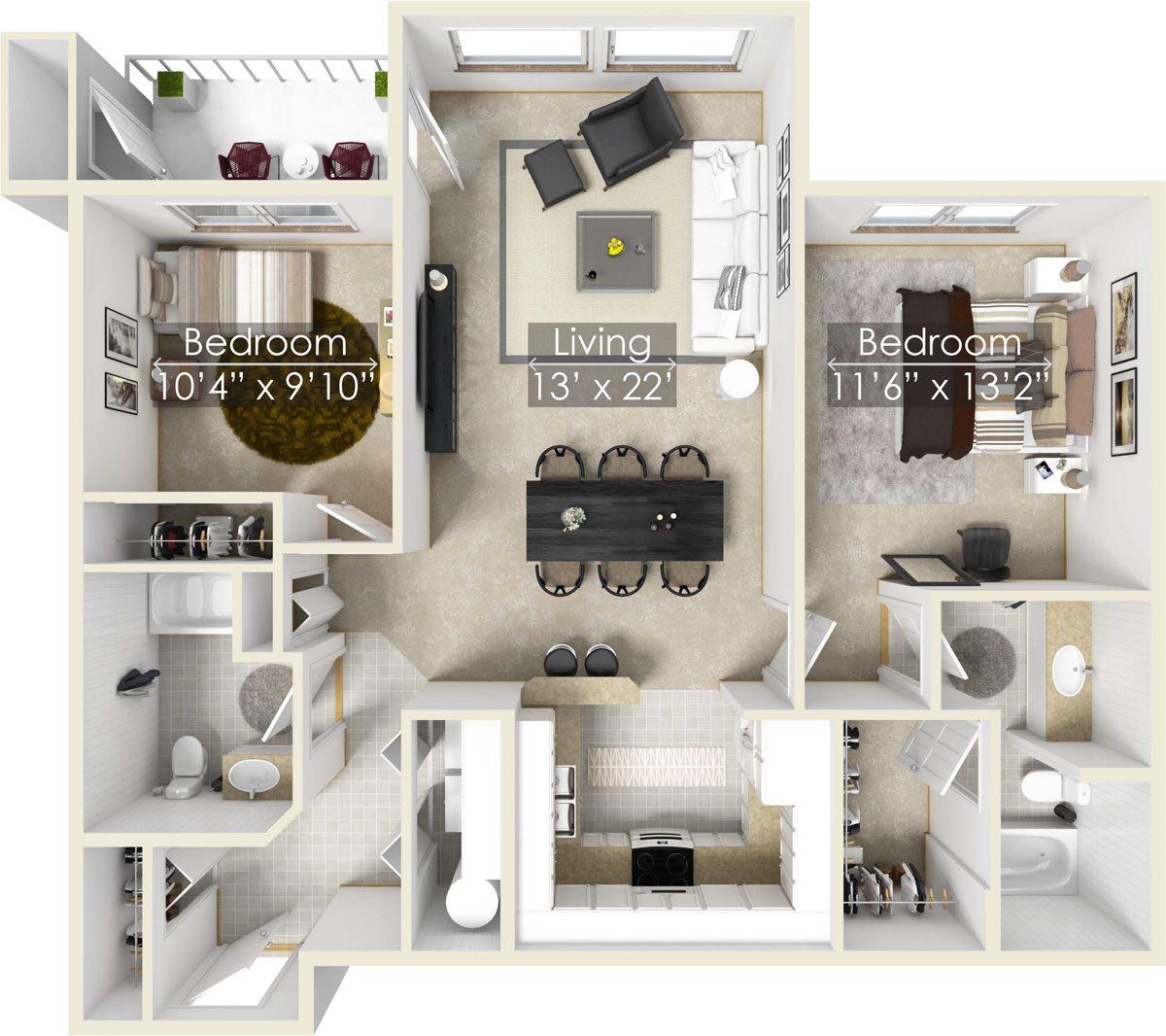 Laurel Floor Plan 6