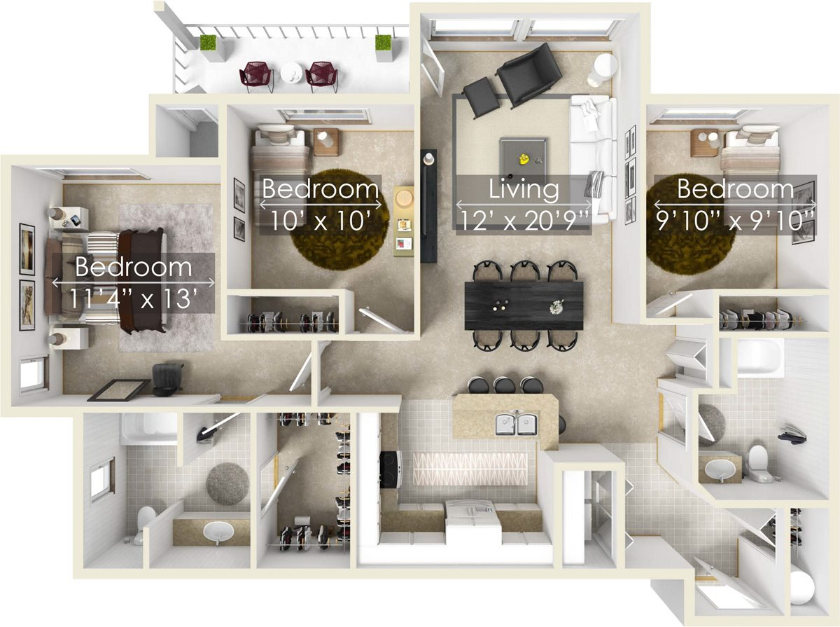 Snowberry Floor Plan 10