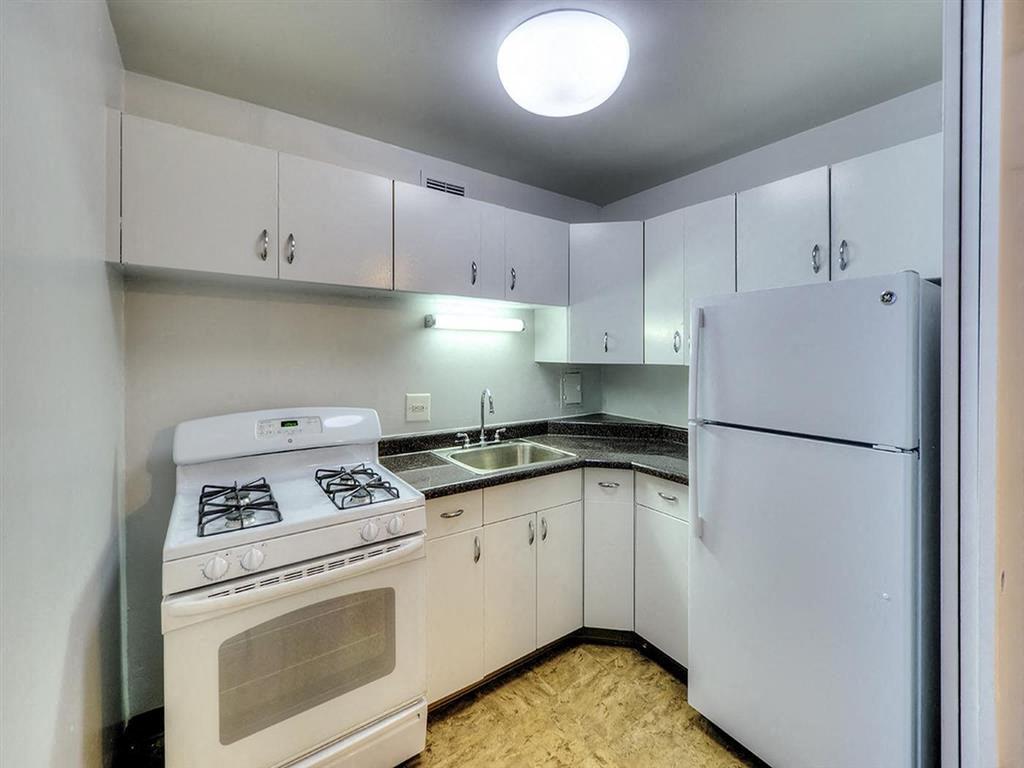 Efficient Appliances In Kitchen, at Prairie Shores, Illinois, 60616