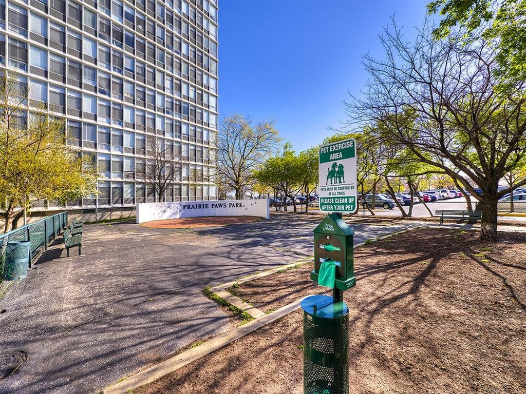 Greenspace Walking Trails, at Prairie Shores, Chicago, 60616