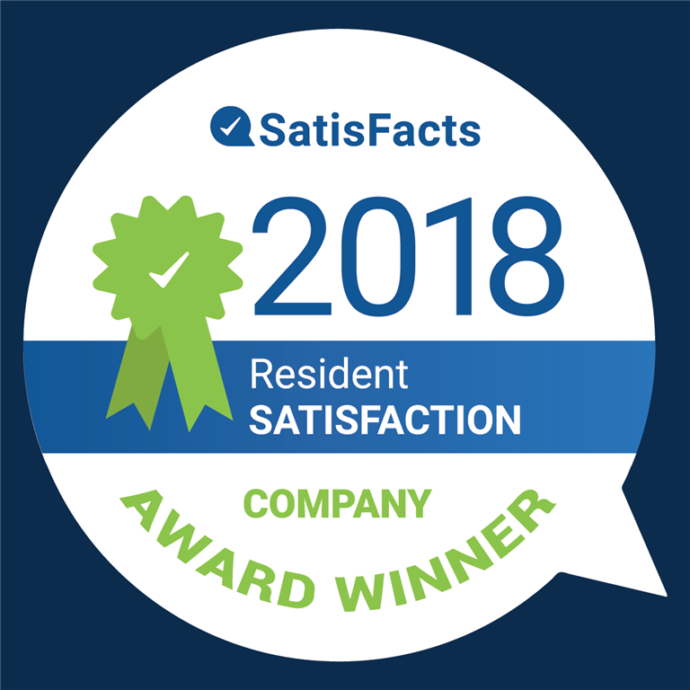 2018 Resident Satisfaction