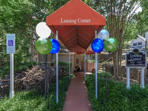 Leasing Center at Edwards Mill Townhomes & Apartments, North Carolina, 27612