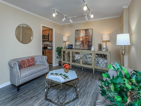 Large Community Clubhouse at Edwards Mill Townhomes & Apartments, Raleigh, NC, 27612