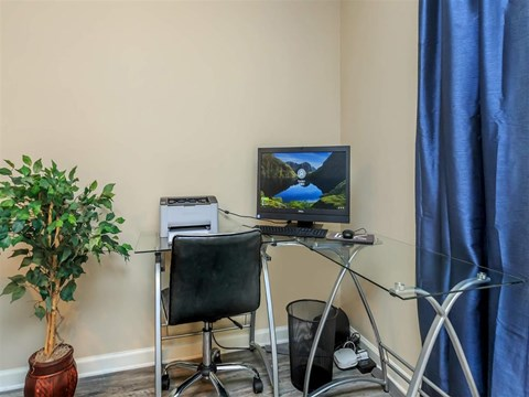 Separate Working Space at Edwards Mill Townhomes & Apartments, North Carolina, 27612
