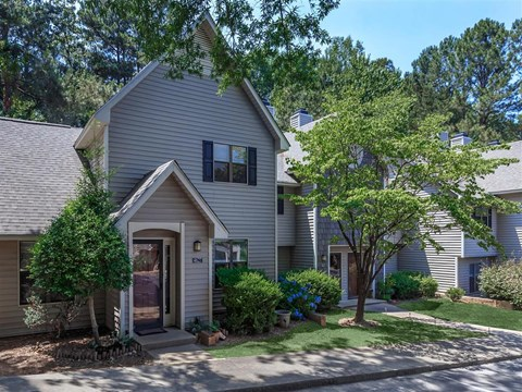 Exquisite Exterior at Edwards Mill Townhomes & Apartments, Raleigh, NC, 27612