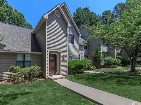 Property Surrounded By Green Spaces at Edwards Mill Townhomes & Apartments, Raleigh, 27612
