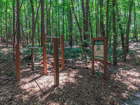 Workout Trails at Edwards Mill Townhomes & Apartments, Raleigh, North Carolina
