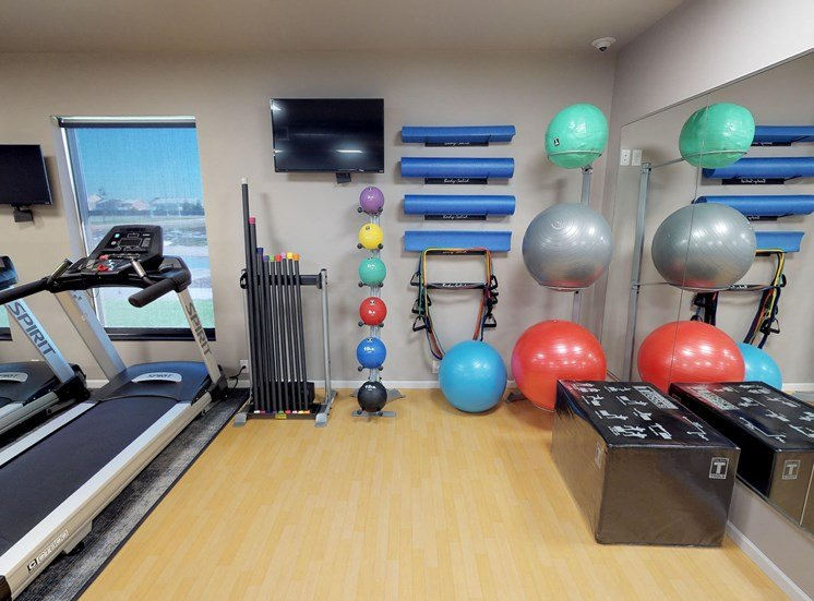 image of fitness room