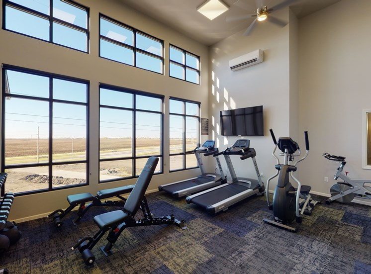 image of gym, fitness center
