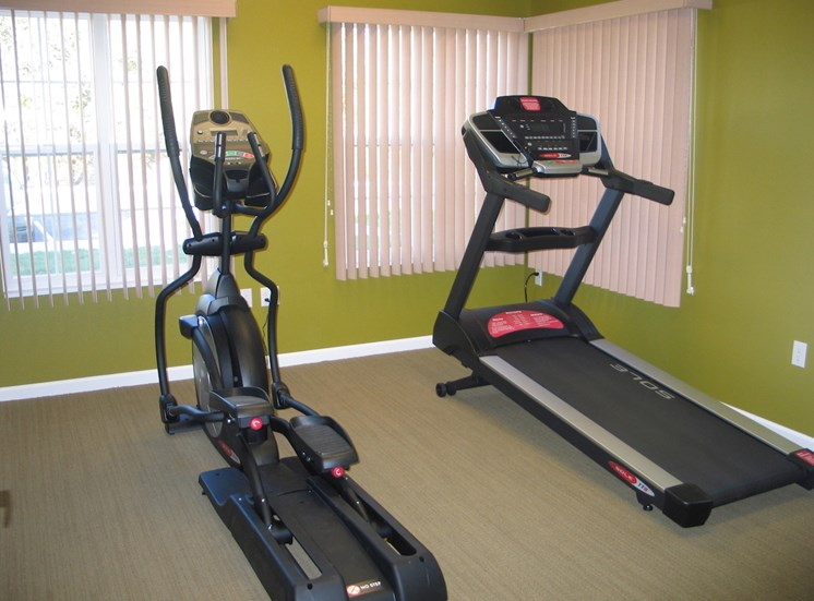 Fitness and Health center at Prairie Apartments