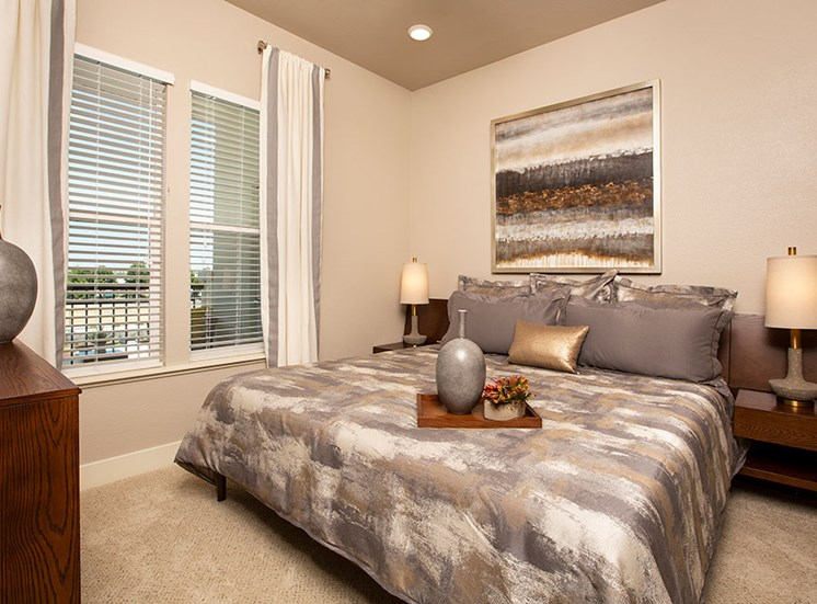 One bedroom at Alira, Sacramento, CA