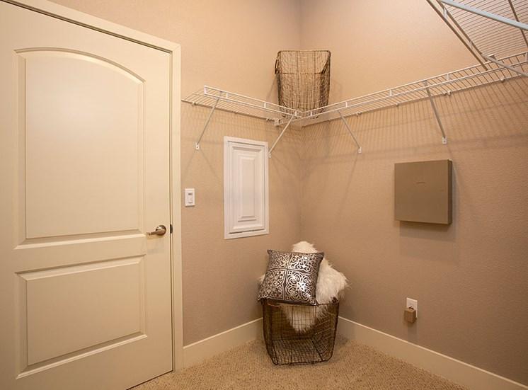 One bedroom walk in closet, Alira, CA 95834