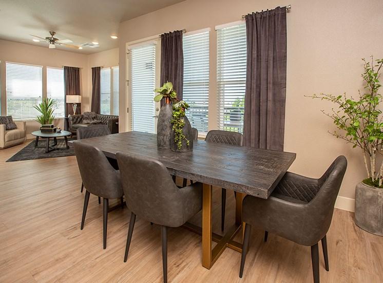 2 bedroom dining room at Alira, Sacramento, California