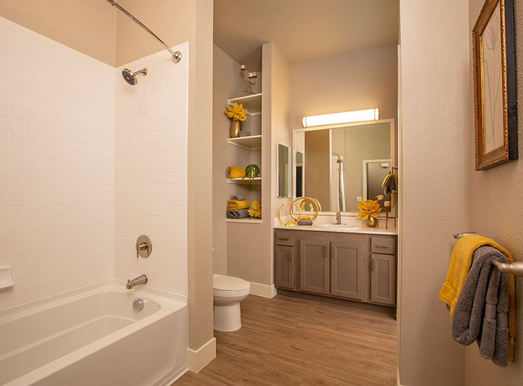 2bedroom master bath at Alira, CA, 95834