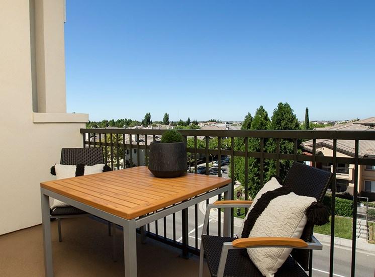2 bedroom patio  at Alira, California, 95834