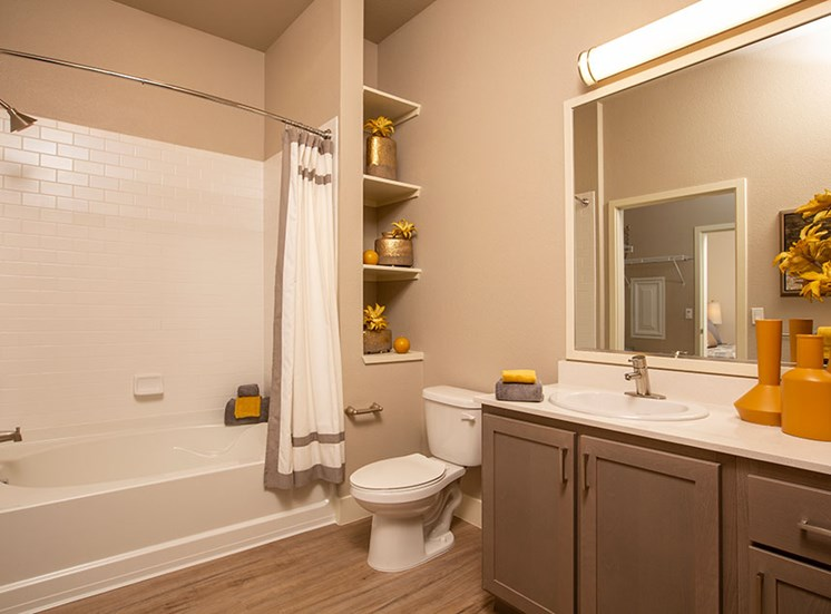 1 bedroom bathroom at Alira, CA 95834