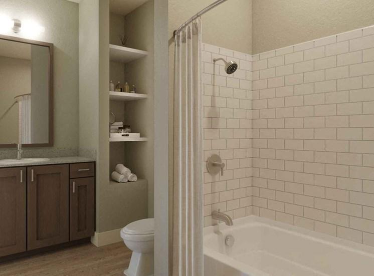 Bathroom With Bathtub at Alira, California