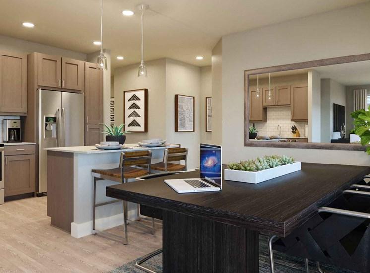 Kitchen-and-Dining-Room at Alira, Sacramento