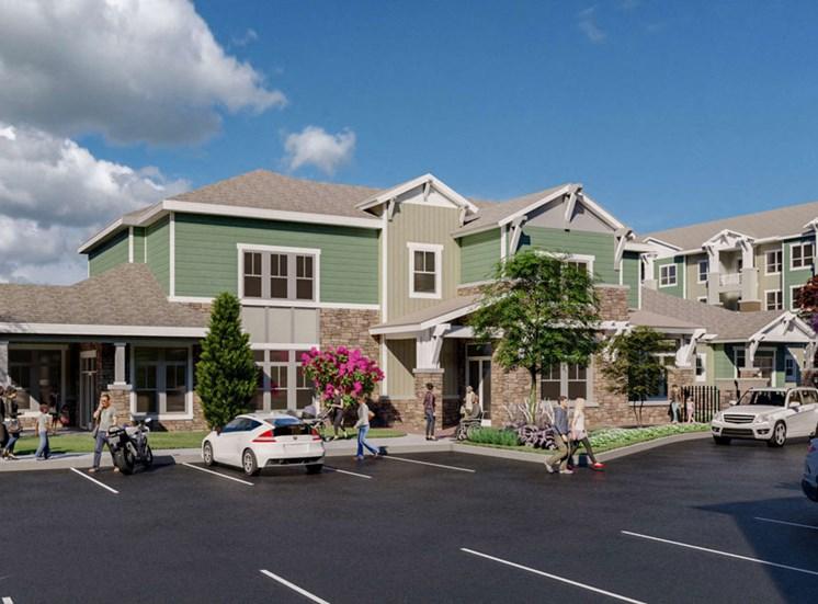 Ample Parking Space at Alira, Sacramento, CA, 95834