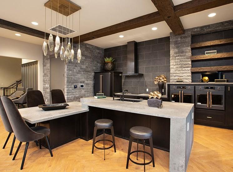 Clubhouse Kitchen at Alira, California, 95834