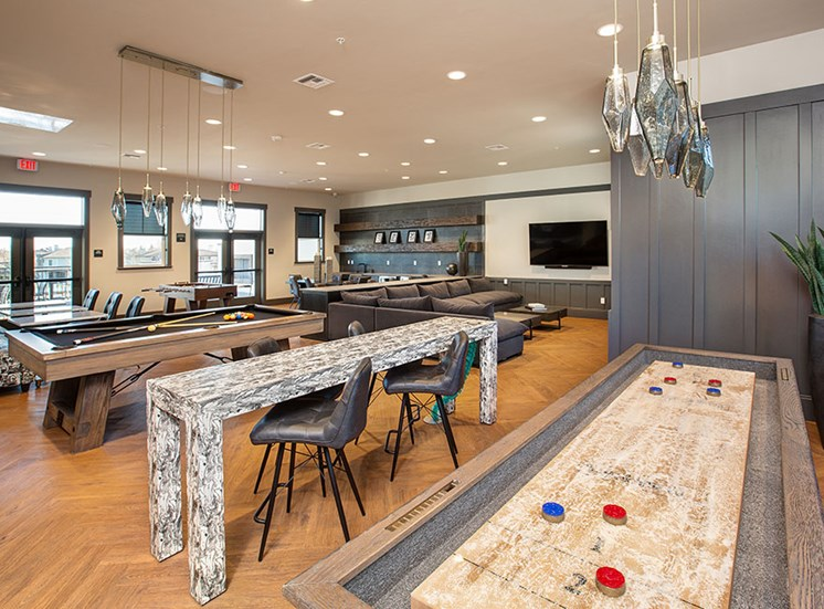Clubhouse games at Alira, California 95834