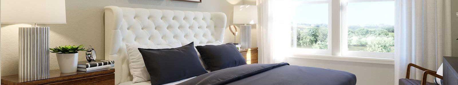 Beautiful Bright Bedroom With Wide Windows at Alira, Sacramento, California