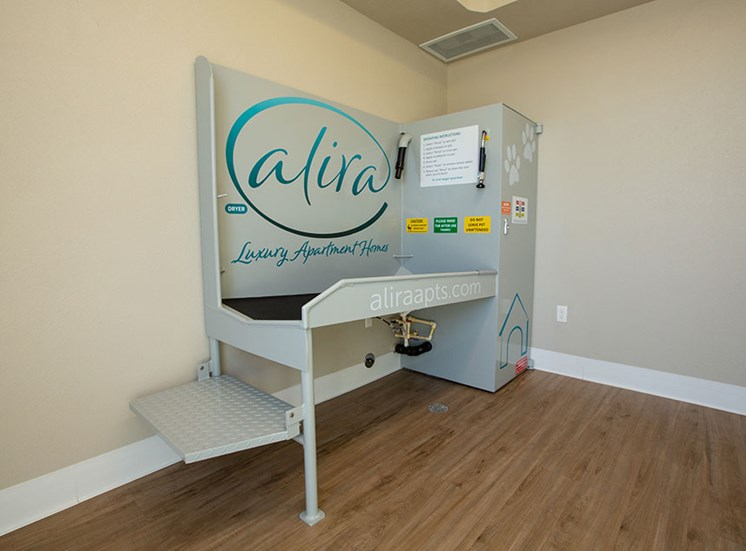 Pet spa at Alira, California, 95834