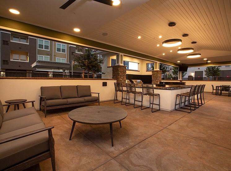Pool BBQ Lounge at Alira, Sacramento, CA
