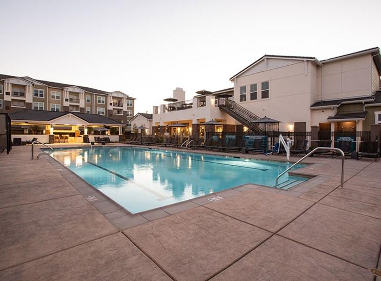 Pool at Alira, Sacramento, CA