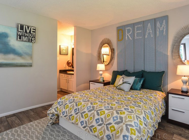 Cielo Apartments San Antonio Bedroom