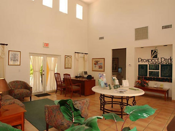 interior common area_Prospect Park Apartments Ft. Lauderdale, FL