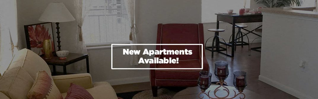 New Apartments Available!