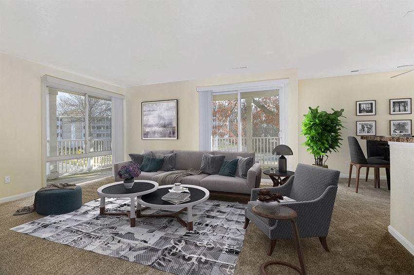 Verona at Landover Hills Living Room