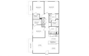 keystone floor plan