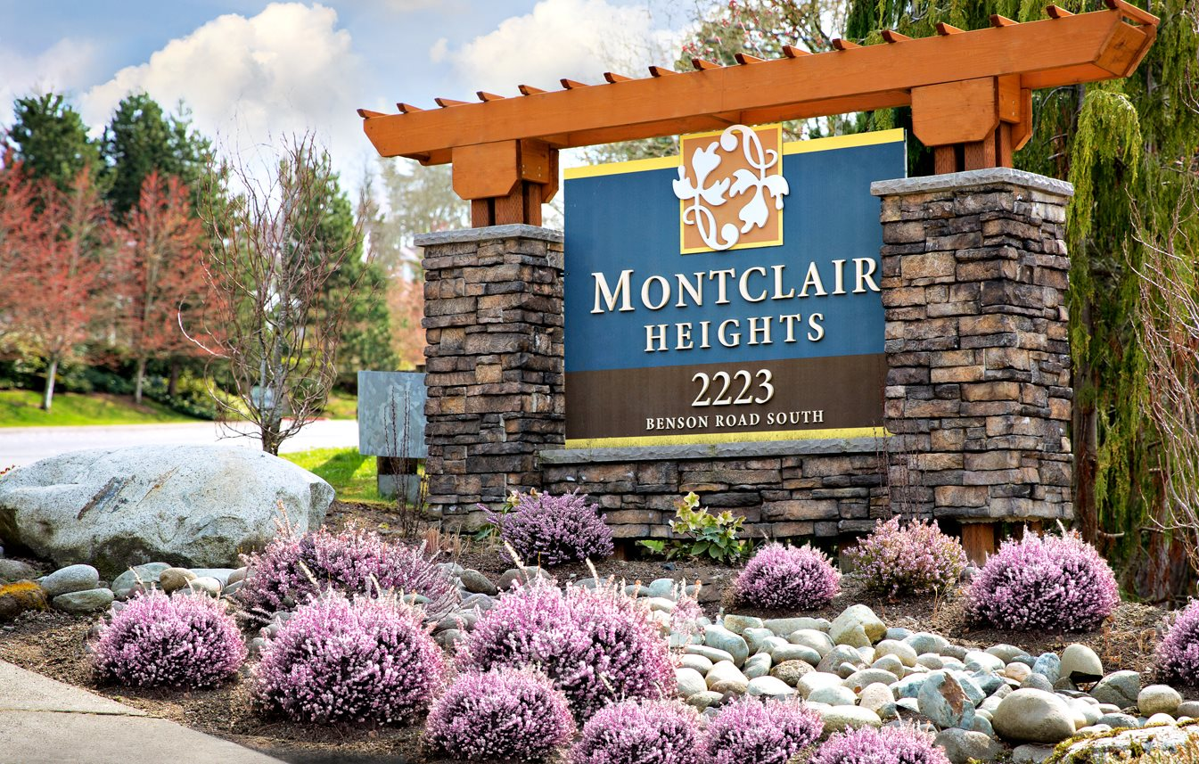 Montclair Heights Apartments Exterior Monument Sign