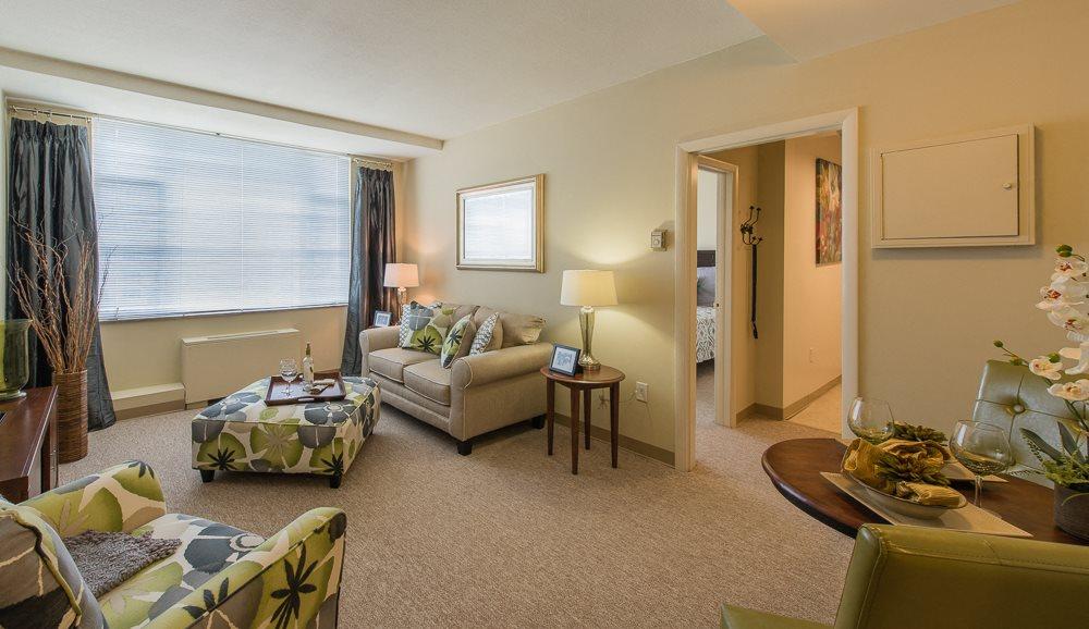 Independent Living Model 4 Living Room