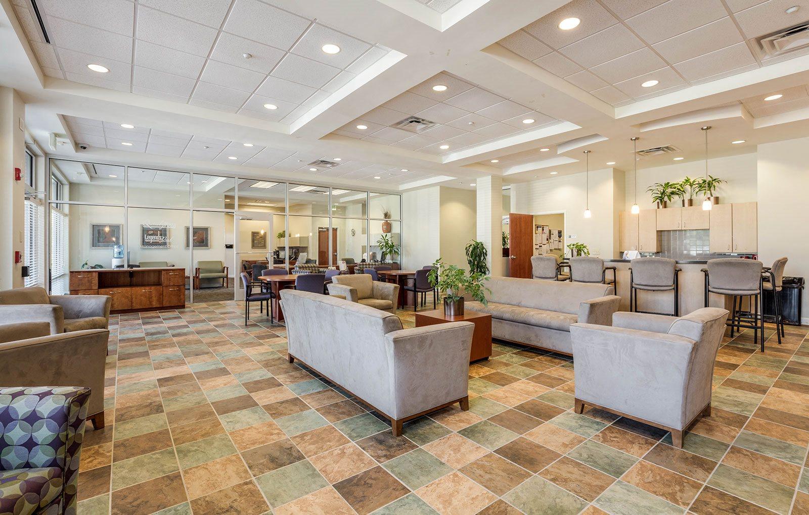Clubhouse interior-Legends Park Apartments, Memphis, TN