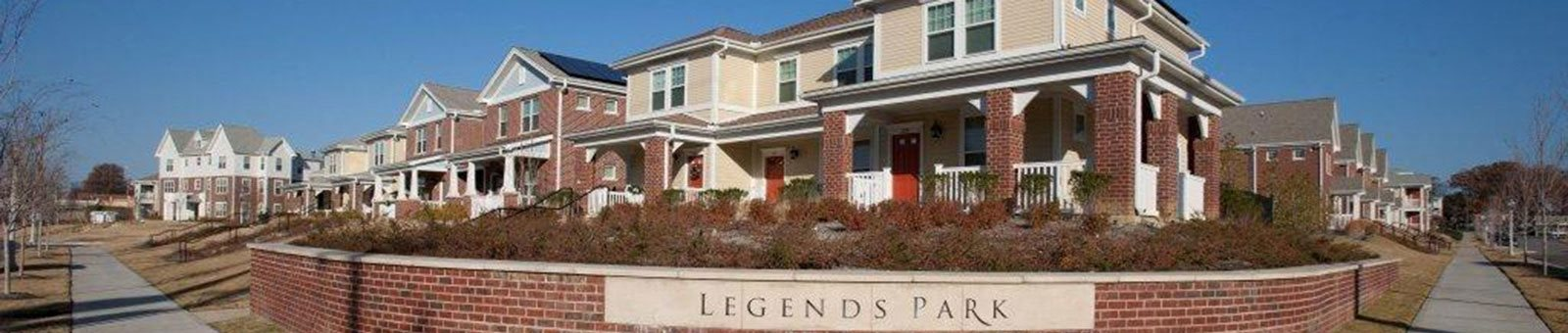 Exterior of Legends Park Apartments, Memphis, TN