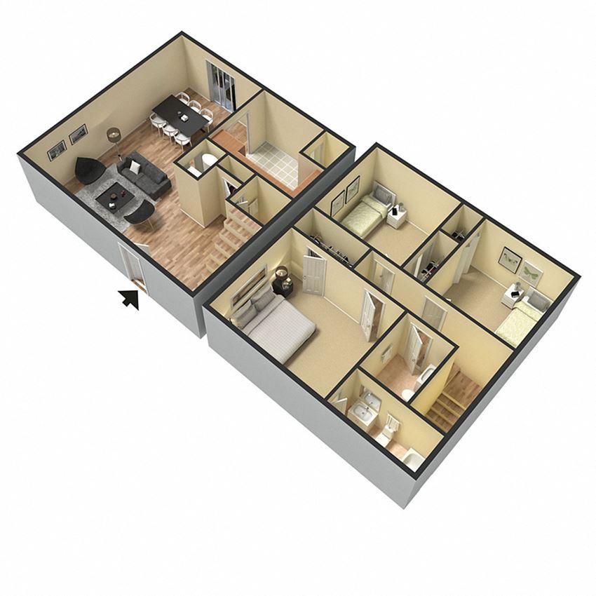 3 bathroom, 2.5 bathroom