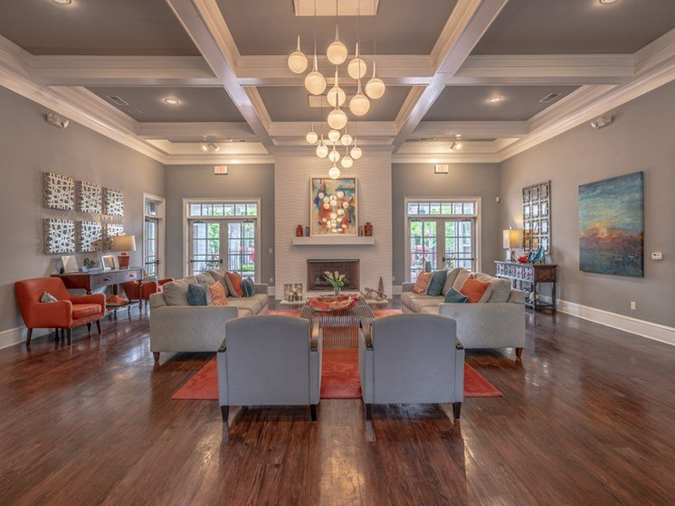 Large Clubhouse With Ample Sitting at Latitude at Wescott, Summerville, 29485