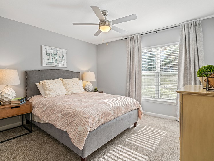 Bedroom With Expansive Windows at Latitude at Wescott, South Carolina