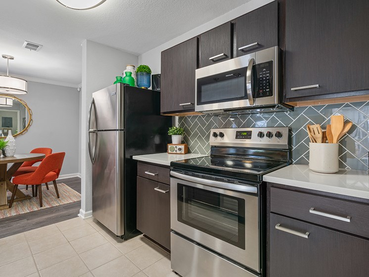Fully-Equipped Kitchens at Latitude at Wescott, Summerville, SC, 29485