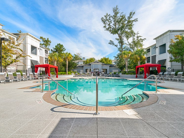 Relaxing Swimming Pool With Sundeck at Latitude at Wescott, South Carolina, 29485
