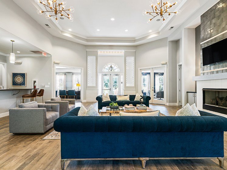 Luxurious Clubhouse at Millennium, Greenville