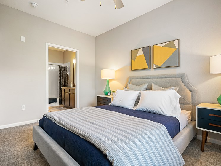 Comfortable Bedroom at Millennium, Greenville, SC, 29607