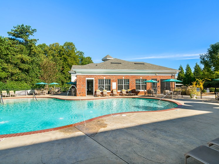Relaxing Pool Area With Sundeck at Millennium, Greenville