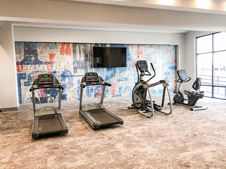 The Ivy at Berlin Place 24-Hour Gym at The Ivy at Berlin Place, South Bend, Indiana
