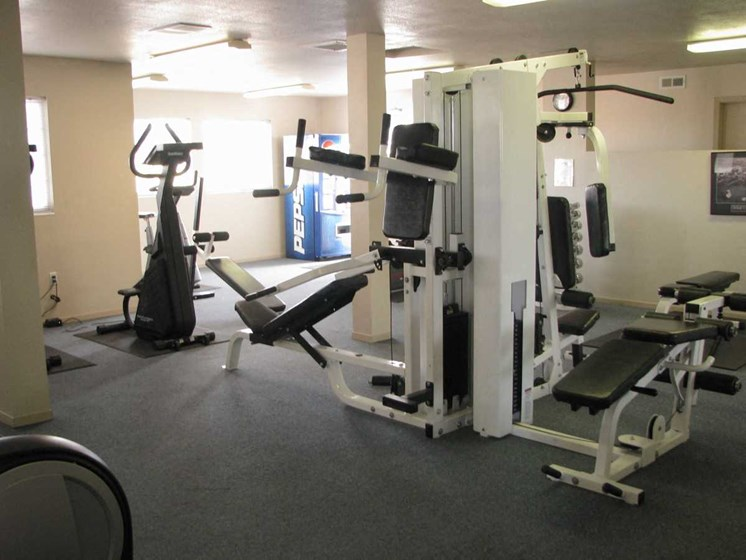 Aspen Courts Apartments Fitness Center