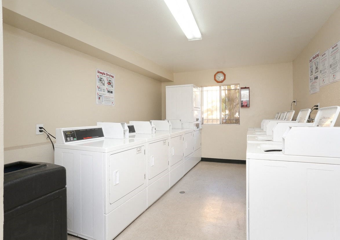 Mariposa Gardens Apartments Laundry Facility