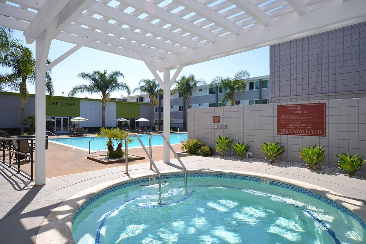 Meridian Pointe Apartments Shaded Spa